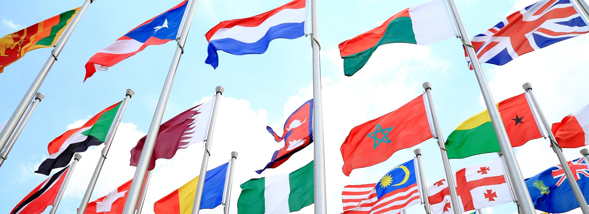worldwide flags